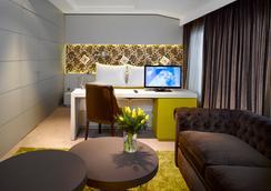 Hotel Unic Prague - ปราก - ห้องนอน
