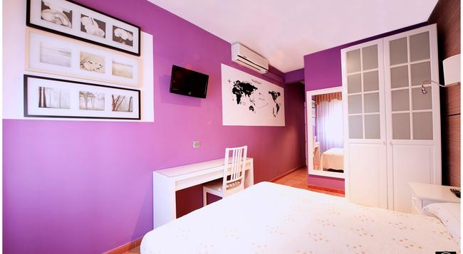 Hostal Los Angeles - Madrid - Bedroom