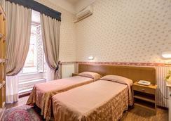 Hotel Orbis - โรม - ห้องนอน