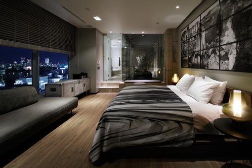 โรงแรมชินจูกุ แกรนเบลล์ - โตเกียว - ห้องนอน