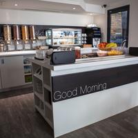 The W14 Hotel Breakfast Area