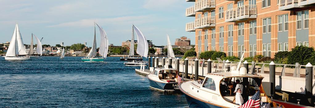 Battery Wharf Hotel, Boston Waterfront - Boston - Building