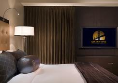 Golden Gate Hotel and Casino - ลาสเวกัส - ห้องนอน