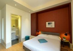 Hotel Pestalozzi Lugano - ลูกาโน - ห้องนอน