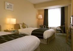 โรงแรมเท็นโนจิ มิยาโกะ - โอซาก้า - ห้องนอน
