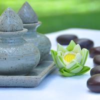 Lotus Blanc Resort Spa treatment
