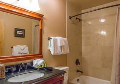 Sierra Nevada Resort & Spa - แมมอธ เลกส์ - ห้องน้ำ