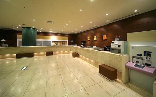 โรงแรมชินจูกุ วอชิงตัน เมน - โตเกียว - แผนกต้อนรับส่วนหน้า