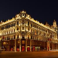 Buddha-Bar Hotel Budapest Klotild Palace Hotel Front - Evening/Night