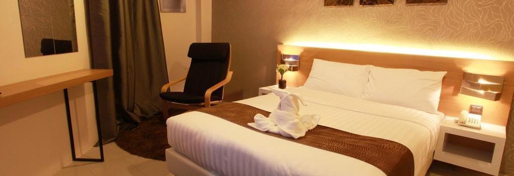 DWJ Hotel - Ipoh - Bedroom