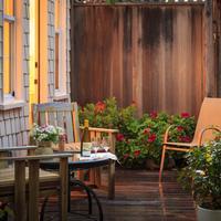 Cheshire Cat Inn Terrace/Patio