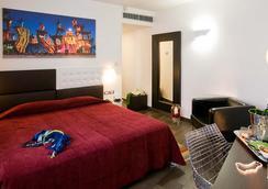 Ecohotel - โรม - ห้องนอน