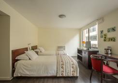 Hotel Neruda Express - ซานติอาโก - ห้องนอน