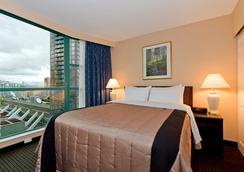 Rosedale On Robson Suite Hotel - แวนคูเวอร์ - ห้องนอน