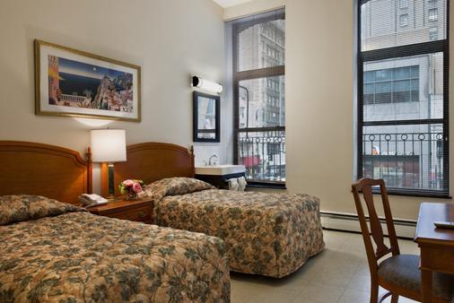 อเมริกานา อินน์ - นิวยอร์ก - ห้องนอน