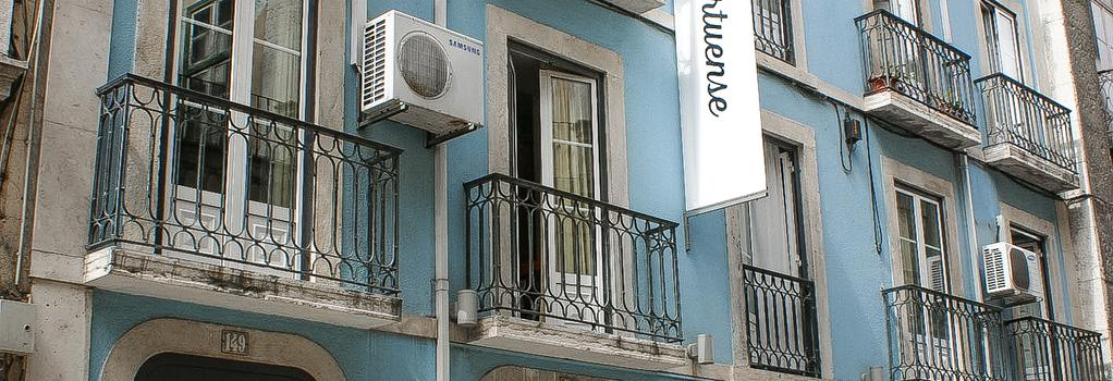 Hotel Portuense - Lisbon - Building