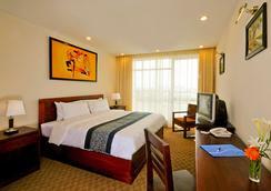 โรงแรมเวียนเทียน พลาซ่า - เวียงจันทน์ - ห้องนอน