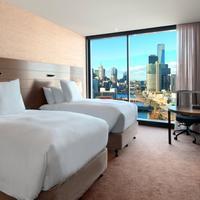 Hilton Melbourne South Wharf Guest room