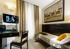 Yes Hotel - โรม - ห้องนอน