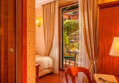 Hotel Piranesi - โรม - ห้องนอน