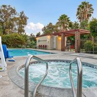 Red Roof Inn Santa Ana Pool