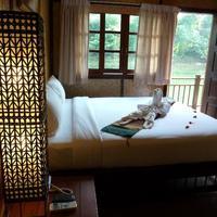 Nakakiri Resort & Spa Interior of the jungle raft rooms
