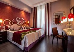 Hotel Morgana - โรม - ห้องนอน