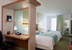 SpringHill Suites by Marriott Salt Lake City Airport - ซอลต์เลกซิตี้ - ห้องนอน