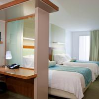 SpringHill Suites by Marriott Salt Lake City Airport Guest room