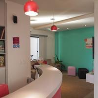 Concept Design Hostel & Suites Reception