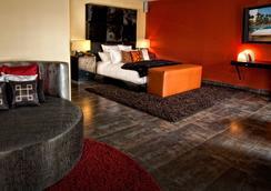 HRH Tower at Hard Rock Hotel & Casino - ลาสเวกัส - ห้องนอน