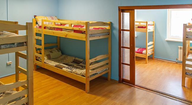 Happy Hostel - Minsk - Bedroom