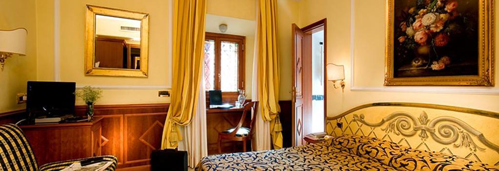 Comfort Hotel Bolivar - Rome - Bedroom