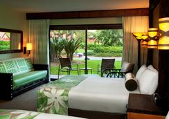 Disney's Polynesian Resort - เลคบัวนาวิสตา - ห้องนอน