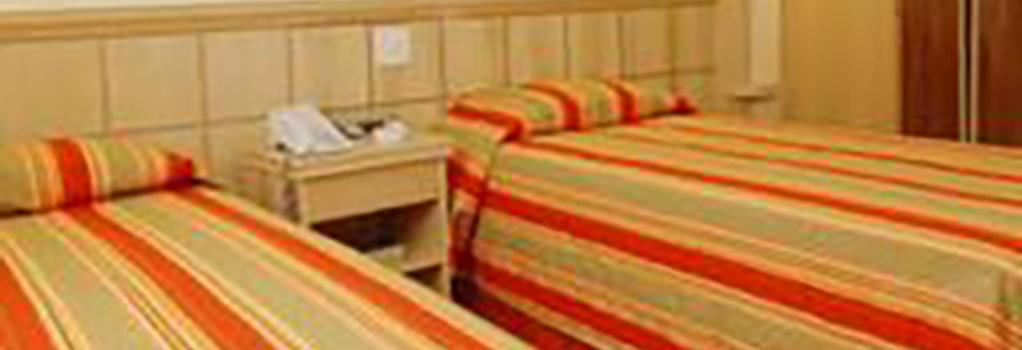 Hotel Atlântico Copacabana - Rio de Janeiro - Bedroom