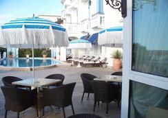 Hotel Casa Bianca al Mare - เจโซโล - ร้านอาหาร