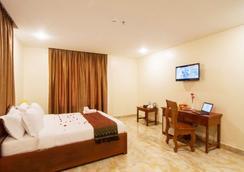 Samnang Laor Phnom Penh Hotel - พนมเปญ - ห้องนอน