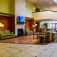 Lexington Hotel Rochester Airport Lobby