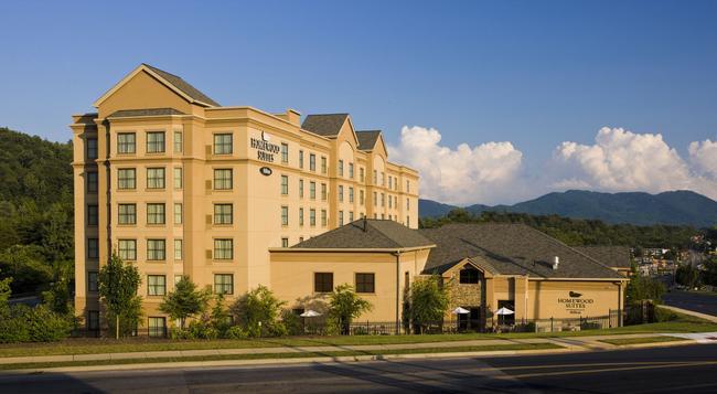 Homewood Suites by Hilton Asheville-Tunnel Road - Asheville - Building