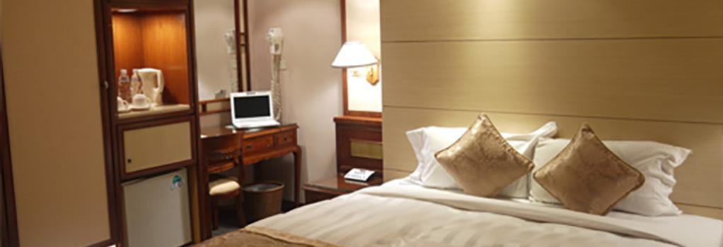 Silken Hotel - Taipei - Bedroom
