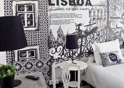 The Art Inn Lisbon - ลิสบอน - ห้องนอน