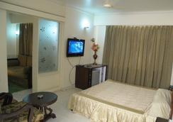 Hotel Ganga Ratan - อักกรา - ห้องนอน