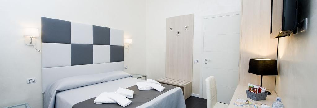 Grey & White - Rome - Bedroom