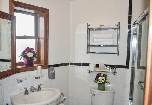 โรงแรมบลูมูน - นิวยอร์ก - ห้องน้ำ
