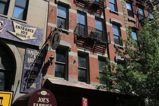 โรงแรมบลูมูน - นิวยอร์ก - อาคาร