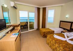 Kleopatra Beach Hotel - อลันยา - ห้องนอน