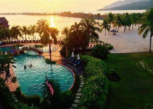 Water Chalet Suite at Langkawi Lagoon Resort