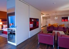 Radisson Blu Hotel, Frankfurt am Main - แฟร้งค์เฟิรต์ - ห้องนอน