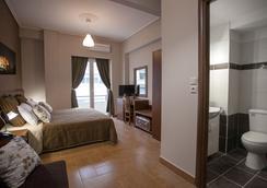 Ambrosia Suites & Aparts - เอเธนส์ - ห้องนอน