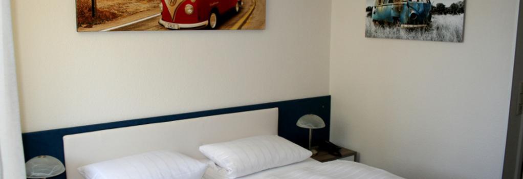 Hotel-Restaurant Bruchwiese - Saarbruecken - Bedroom